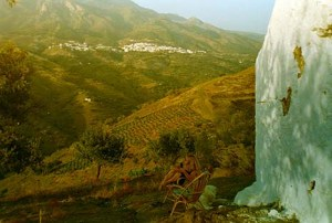 Our local white village (or pueblos blanco), Canillas de Aceituno - famous for producing the King's favourite olive oil...