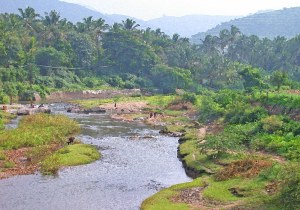 2003 IndiaFoothills river.