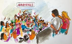 25 Arrivals