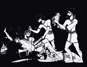 Plate 10 - Abishai Slays Saul