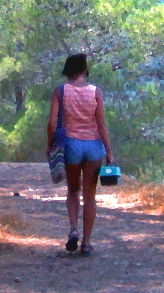 2-p-walking-away-ein-kerem-israel-1981