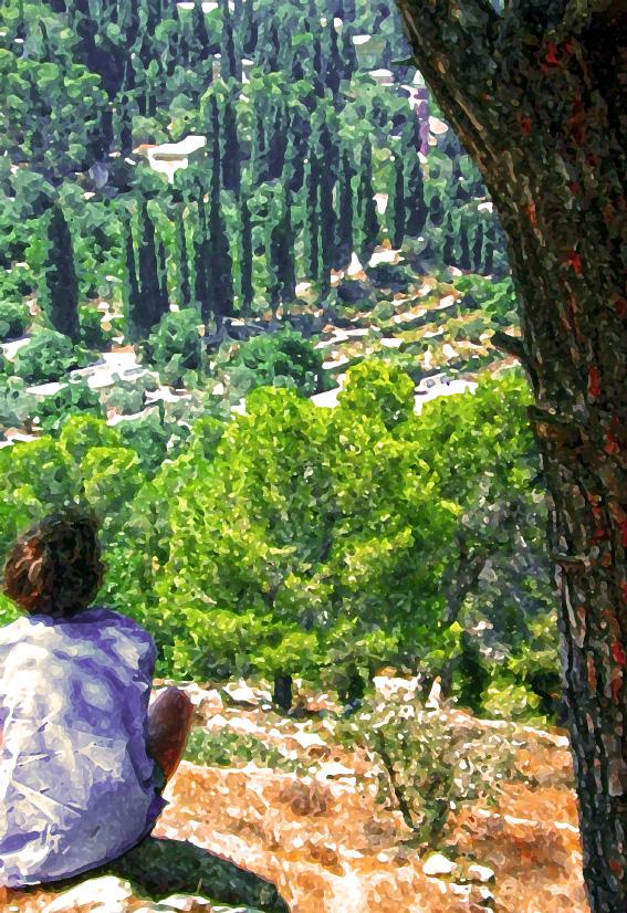Friend above Ein-Kerem - Jerusalem