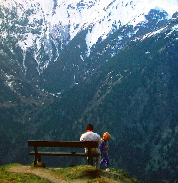 Les 2 Alps Bench