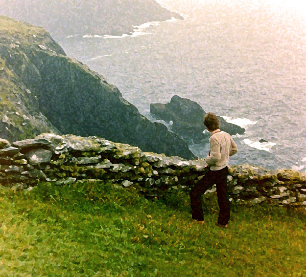 Simon at Slee Head - Kerry Coast - Ireland