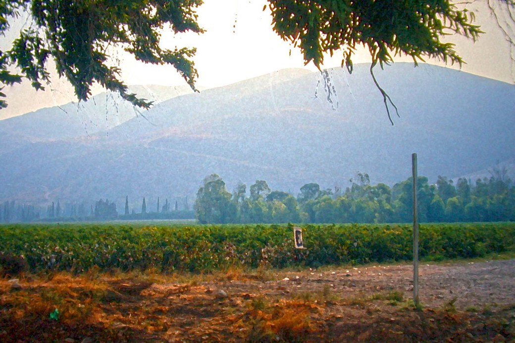 Gilboa Massif from the Jezreel Plain