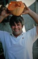 Haifa - Man with Pumpkin