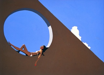 Girl in a Circle