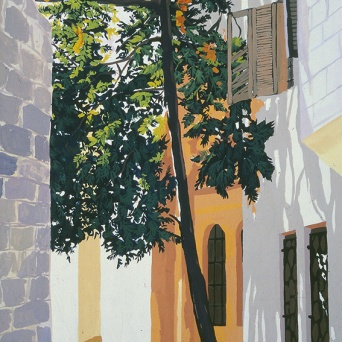 Old City Street Scene