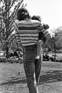 Regent's Park - Mum Carrying Child 1