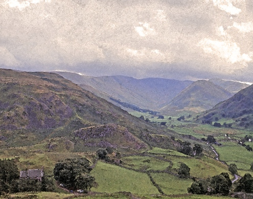 A Valley North of Ullswater