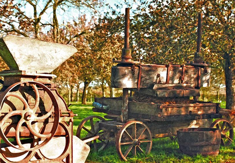 97 Burrow Hill Steam Press 5