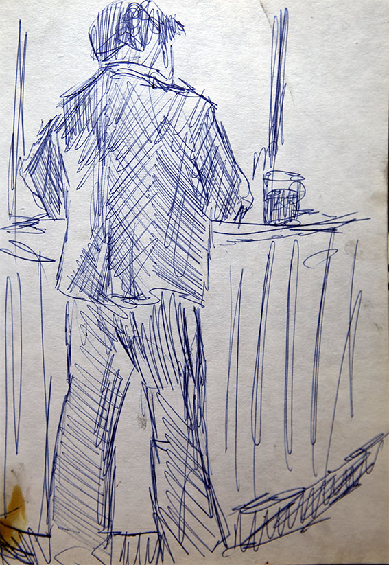 Bar Drinker 1